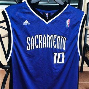 Sacramento Mike Bibby Jersey Youth Boys Size XL
